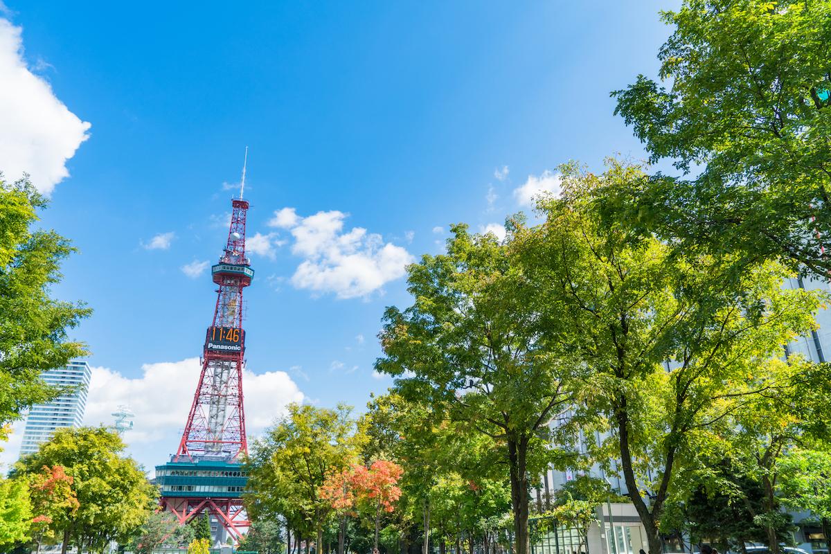 札幌のエリア情報「大通公園」の楽しみ方